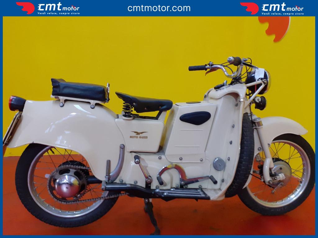 Sissi Moto Crema Usato moto usata - moto guzzi galletto 160 - 1952